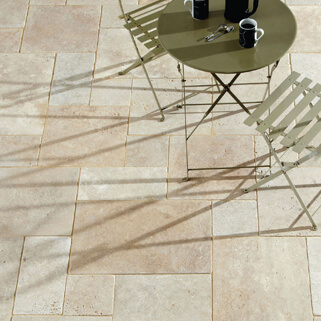 Cream Travertine Thumb